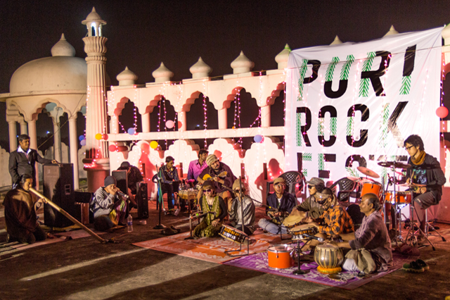 第二回Puri Rock Festivalに参加