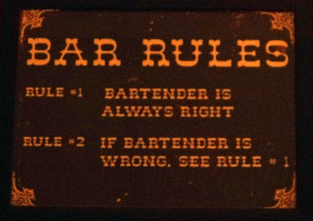 インドのバーのルールその2