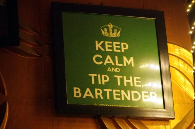 インドのバーのルールその1