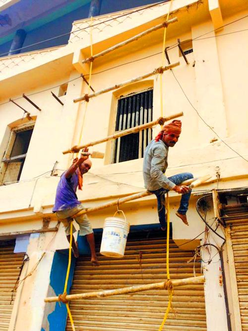 インドの塗装屋