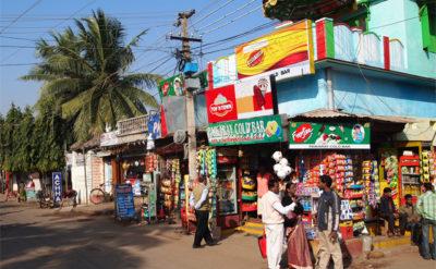 インドでよく見る個人商店