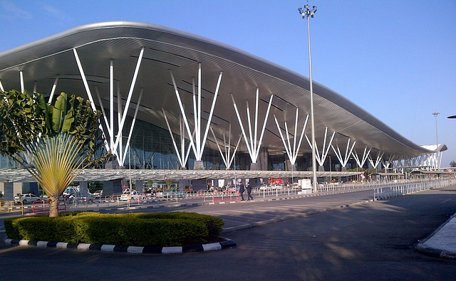 バンガロールのケンペゴウダ国際空港