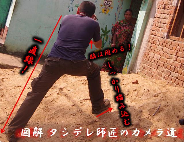 番外編 図解タシデレ師匠のカメラ道