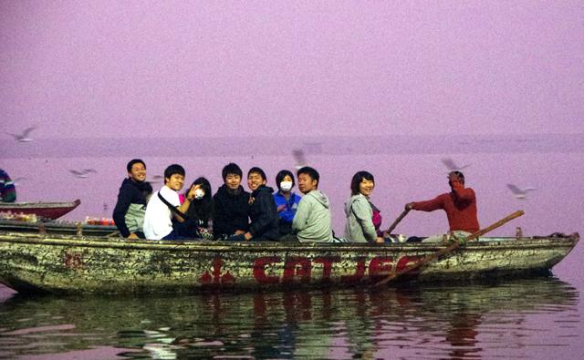 ガンガーのボート