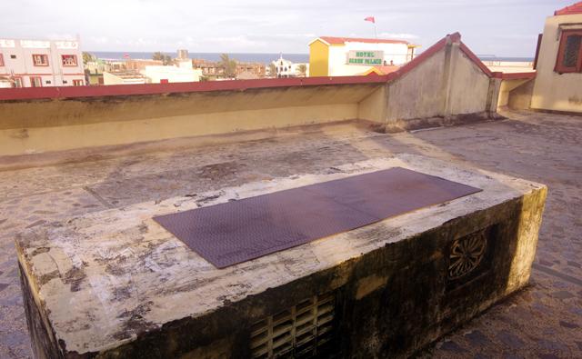 住んでいるマンションの屋上