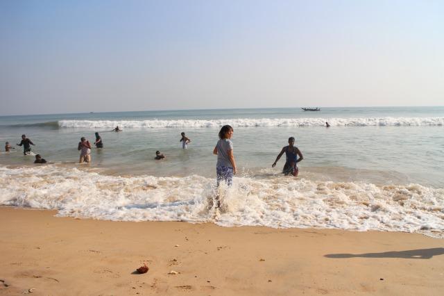 インド、プリーにあるビーチ