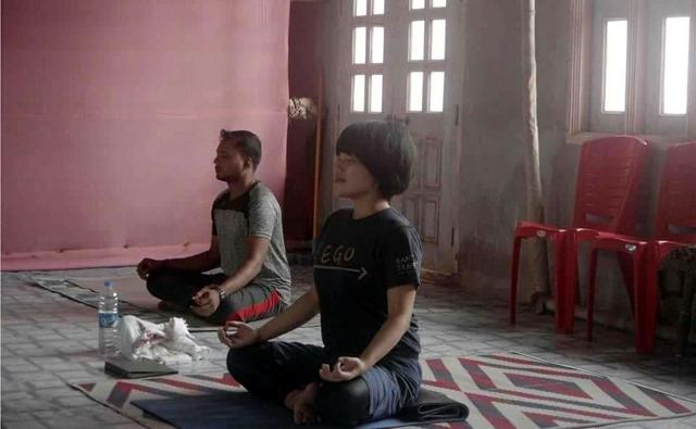 呼吸法から瞑想するはる