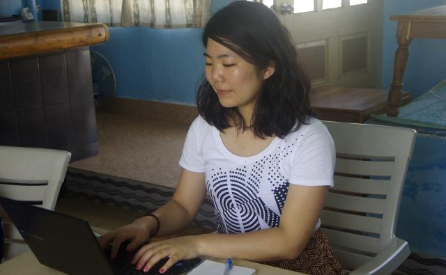 ブログを書いています。(順調)