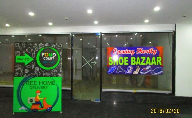 4階に新しくできるSHOE BAZAARのお知らせです。