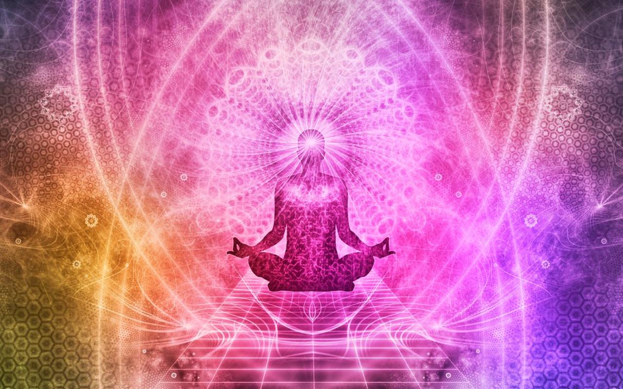 瞑想の図です。