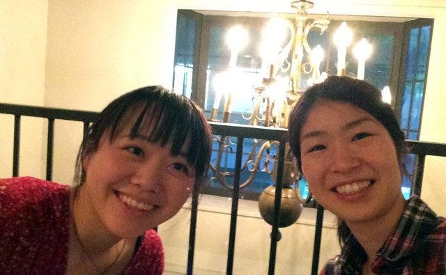 ヨガを一緒に学んださおりちゃんと日本で再会