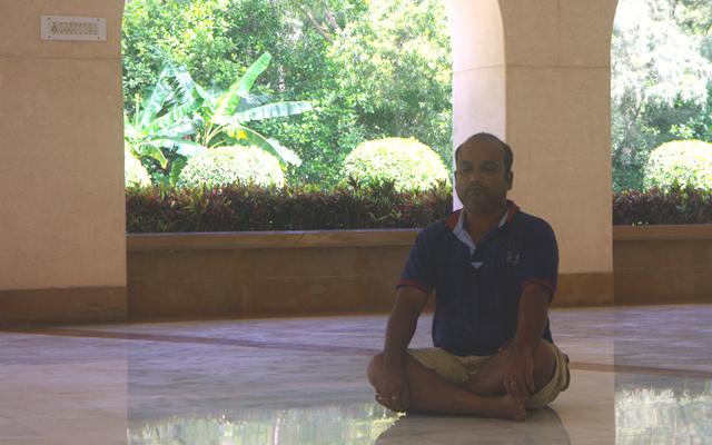プリーにある瞑想センターに行けばノリアだって瞑想します