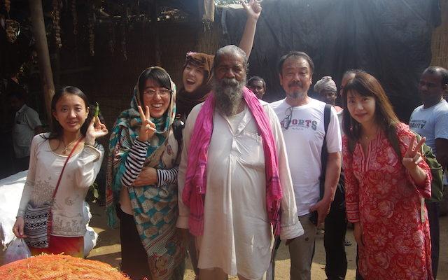 インド人とツアー参加者