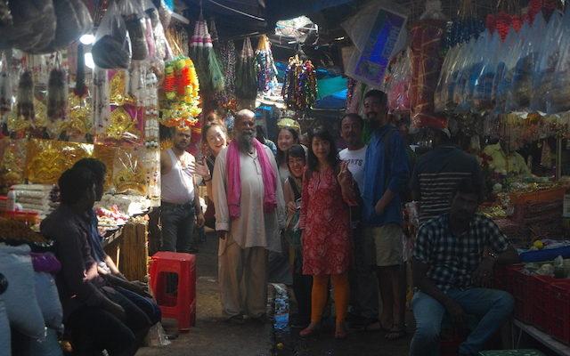 インド人とカレーツアー参加メンバー