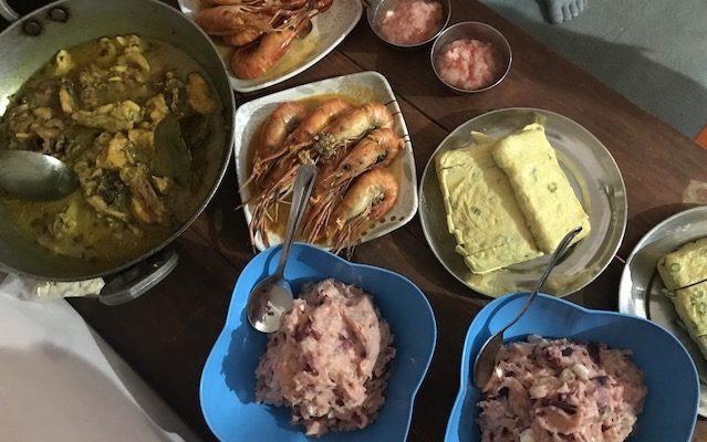 手作り夕飯♩
