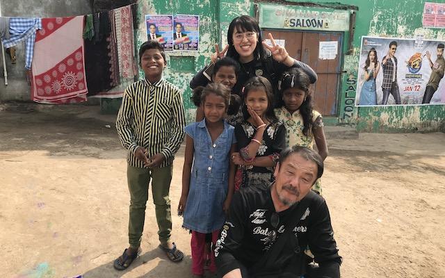 子どもたちの笑顔が可愛い!!