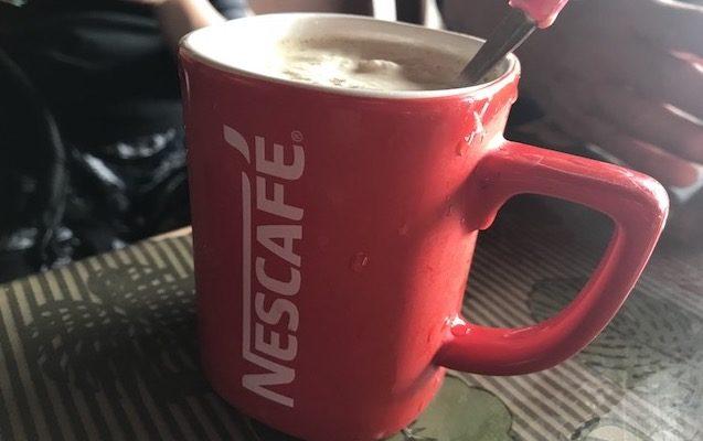 旅人にも人気のアイスコーヒー