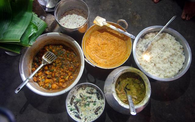 時間をかけてつくられた家庭料理の数々