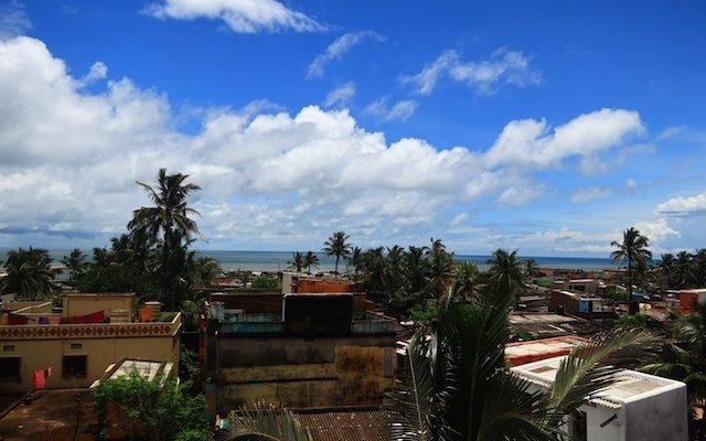 サンタナホテルの屋上からの風景