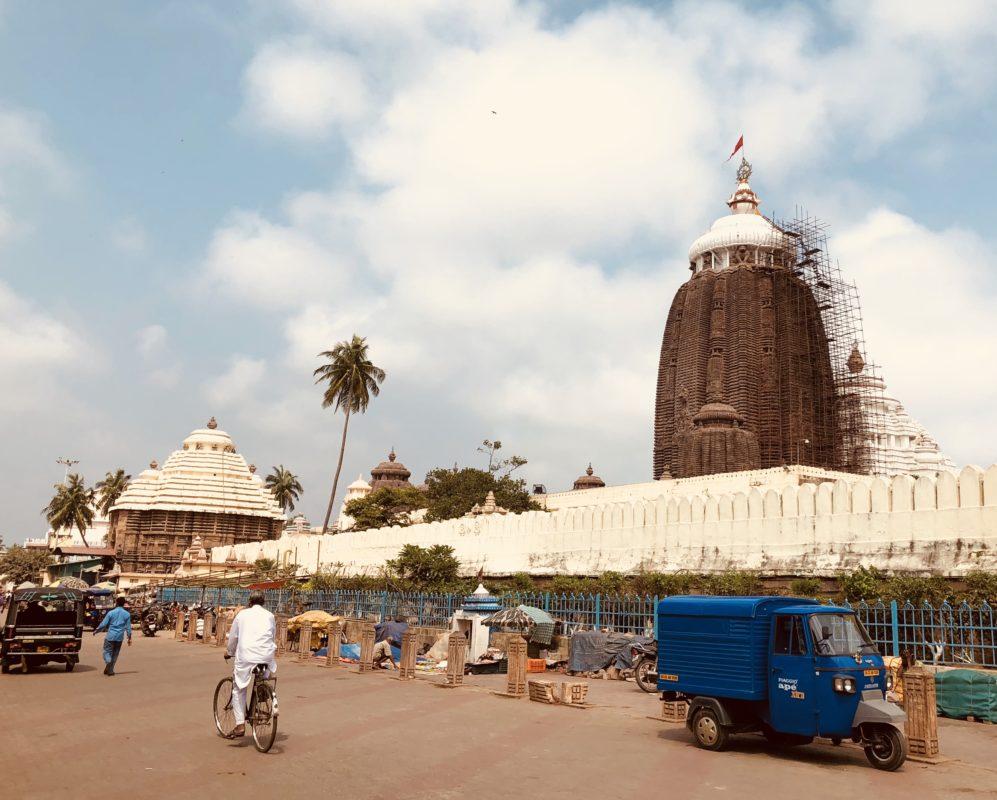ヒンドゥー4大聖地のジャガンナート寺院