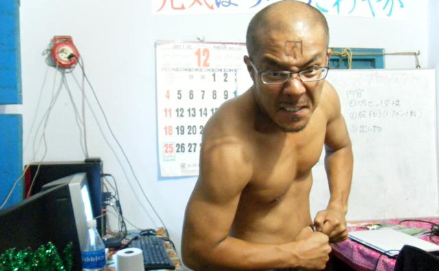 筋肉隆々時代の写真