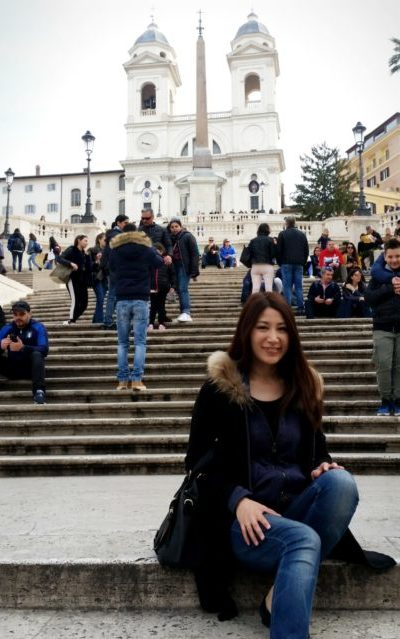 ヨーロッパへ記念旅行へ行った際の写真