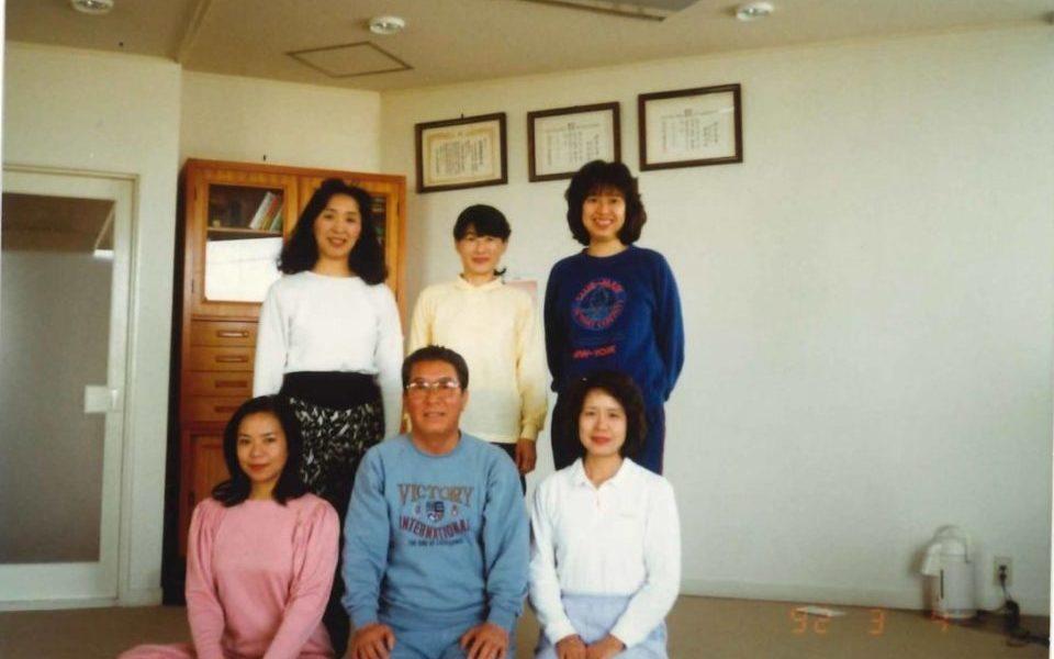 坂本さんのお母様がヨガを始めた頃の写真。