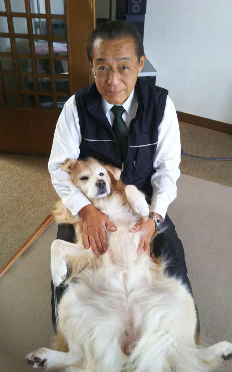ヨガを始める前の坂本さんのお父様。