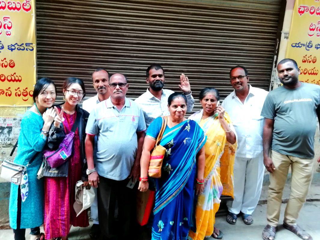 インド人家族とバラナシで再会