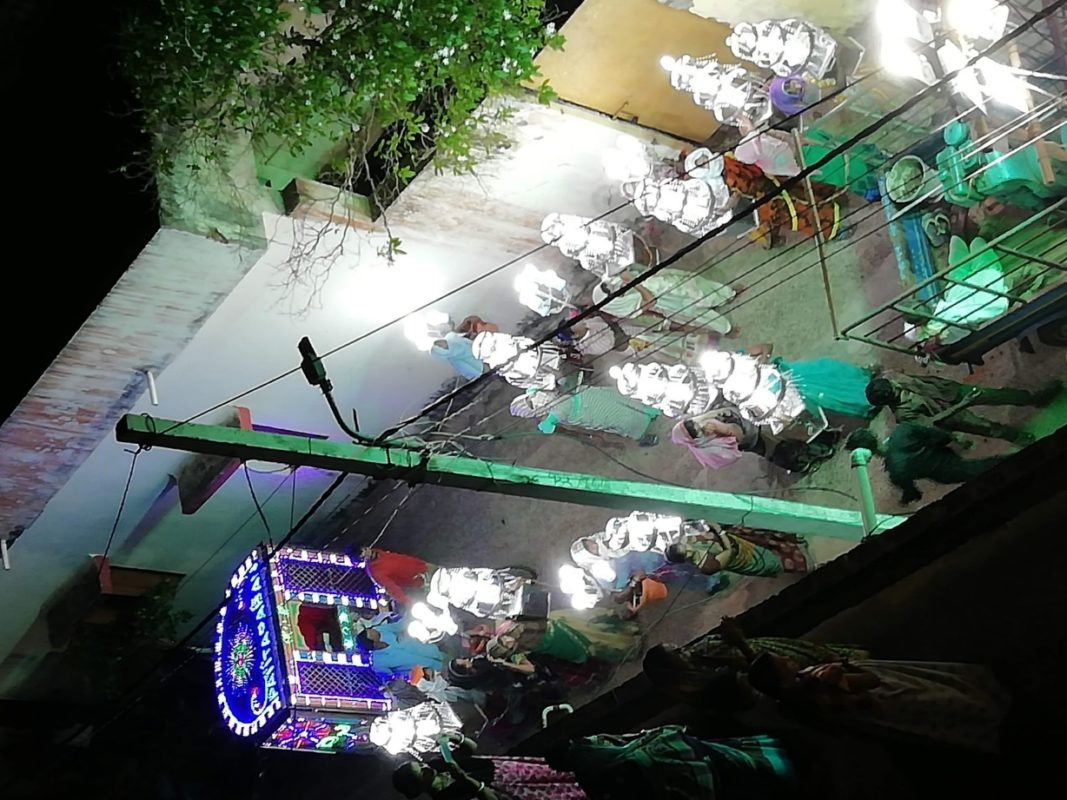 ガネーシャ祭りパレード