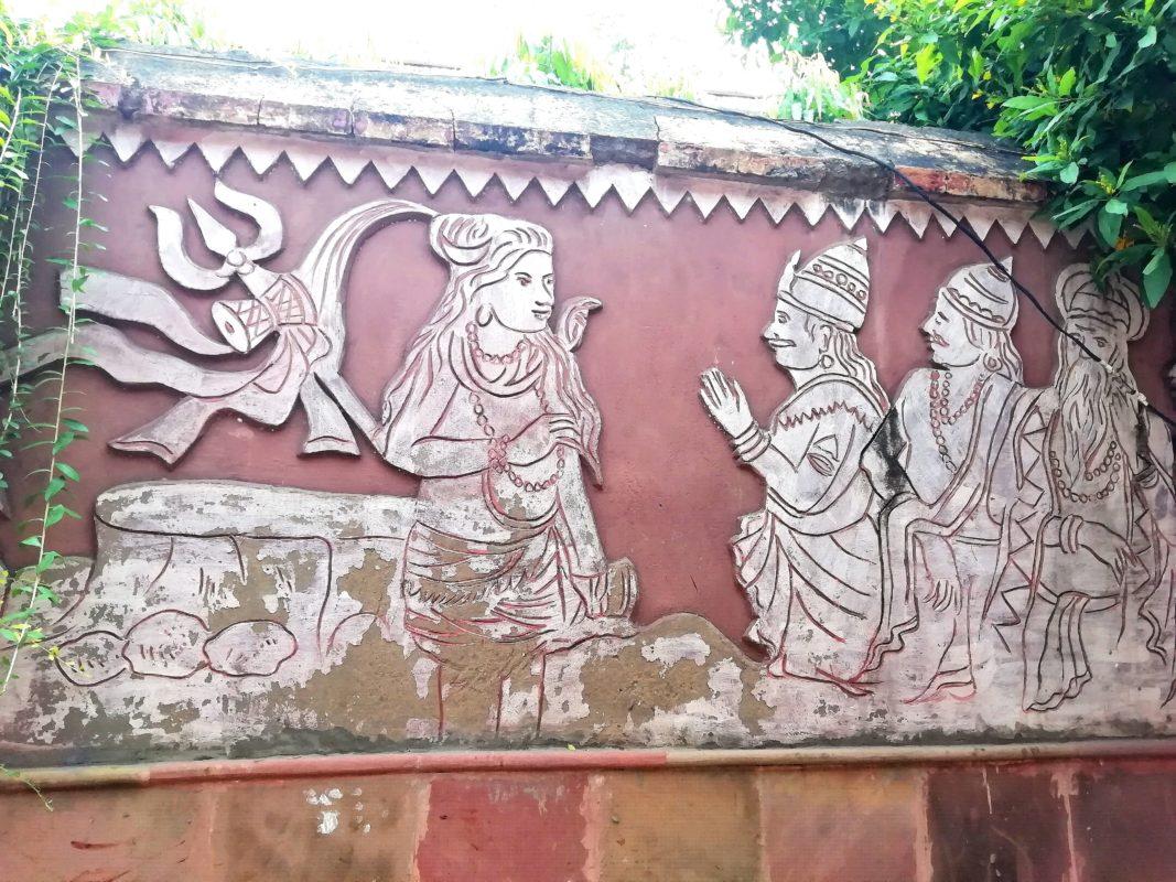 壁彫りアート1