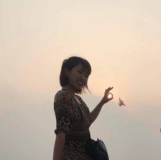 光は手の中にある。